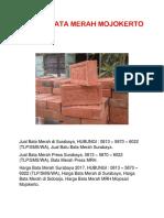 Jual Bata Merah di Gresik, 0813 – 5870 – 6022 (TLP/SMS/WA)