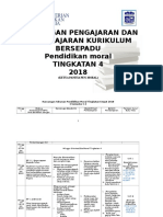 335544880 Rancangan Pengajaran Tahunan Pendidikan Moral Ting 4