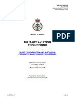 UK Military Aviation Engineering_Guide to developing preventive maintenance