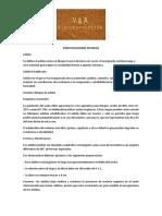 Especificaciones Técnicas Adobe