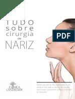 Cartilha Cirurgia Plástica de Nariz 14pg
