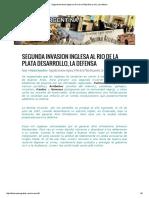 Segunda Invasion Inglesa Al Rio de La Plata Desarrollo, La Defensa