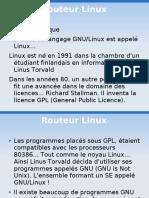 Routeur Linux
