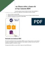 Tutorial Mão Na Massa Sobre o Banco de Dados Como Serviço Amazon RDS