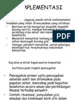 Implementasi Kep.komunitas