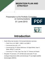 ICASA - Digital Migration - Parl - 1 June 2010