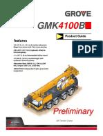 Gmk4100b Para 200 Ton.