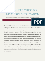 beginners guide to indigenous education
