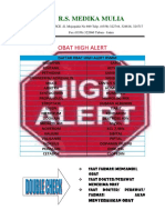 Daftar Obat High Alert Docx