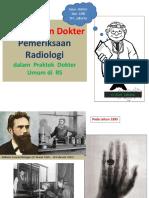 4.Menajemen Dokter Penunjang Radiologi,Clinical Reasoning Sm 7. 2011