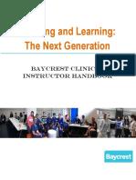 Nursing Student Guide-Instructor