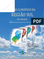 Atlas Climatico Da Regiao Sul Do Brasil