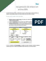 Guía Para Recuperación de Enlace Con Archivo BSN