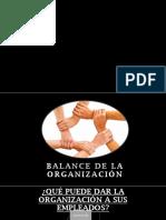 Balance de Organización.