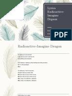 Lyrics Radioactive-Imagine Drgaon