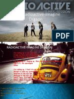 Lyrics Radioactive-Imagine Drgaon b
