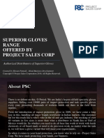 PSC Superior Glove Range 2018 - INR Pricing Version