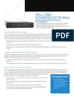 Poweredge r740xd Spec Sheet