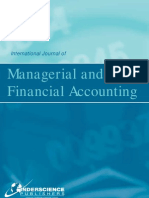065. Froebel Council Jane Broad Bent; International Journal of Managerial and Financial Accouting