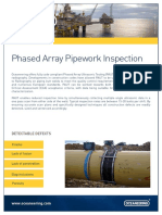 Phased Array Pipework Inspection A4