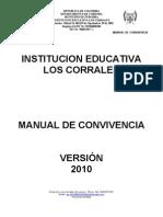 Manual de Convivencia i e Los Corrales