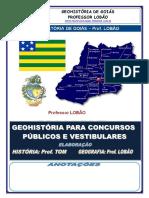 Geohistoria de Goiás -Historia