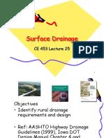 25 Rural Drainage