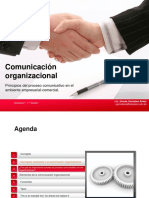 Presentación Comunicación organizacional