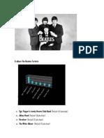 6 Album the Beatles Terlaris