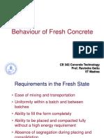 15. Fresh Concrete