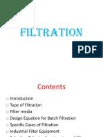 filtration dan jenisnya