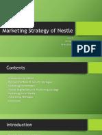 Marketing Strategies of Nestle