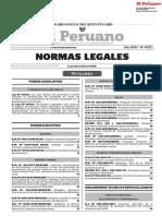 Normas Legales Peru 22-01.2018
