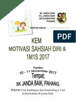 Kertas Kerja Kem Sahsiah Skjb2017
