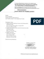 Pengumuman PKKMB Jalur Transfer 2017-2018260
