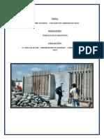 Construccion II - Informe 01