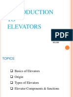 introduction toelevators-170809170017