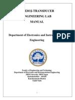 Transducer Manual Print Engg Lab