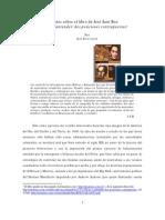 Sobre Bolivar y der Dos Visiones Contrapuestas