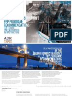 Delay and Dissatisfaction in the Aquino Administration's PPP Program Recommendations for Future Partnerships in Infrastructure