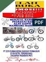 Iklan kedai basikal