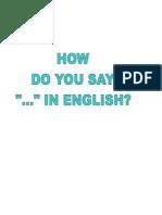 Classroom Language Grup