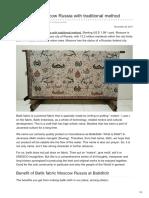 Batikdlidir.com-Batik Fabric Moscow Russia With Traditional Method