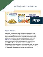 Deflaming Supplements PDF
