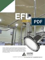EFL Series LED Flood Lighting in Australia by Lighting Technology