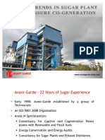 Sugar Plant High Pressure Cogeneration
