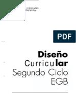 DISEÑO CURRICULAR, SEGUNDO CICLO