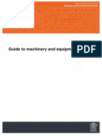 A Guide to Machinery & Equipment Safety