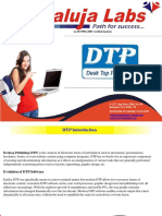 DTP Course training in Janakpuri, New Delhi
