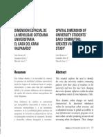 Álvarez A et al. - 2009 - Dimensión espacial de la movilidad cotidiana unive.pdf